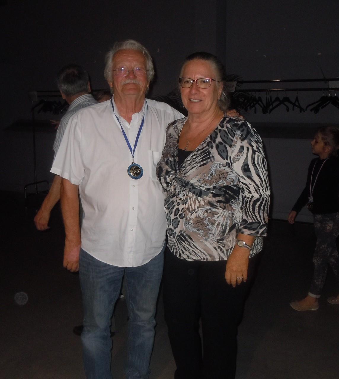 Félicitations de la présidente du CDOTS 07-26 Yolande SAINT-CLAIR à Gérard Morel