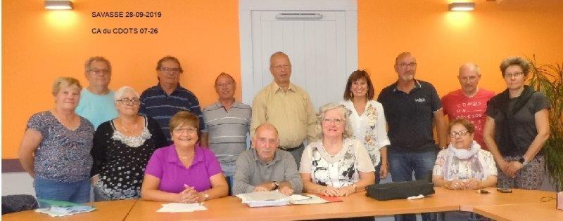 Conseil d'administration CDOTS 07-26