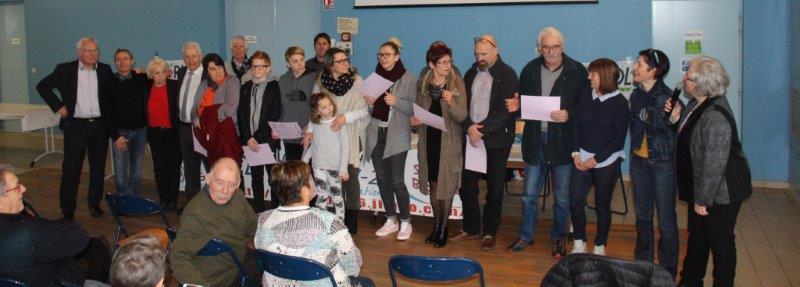 Y.Saint-Clair remercie la Famille Brochier impliquée dans le sport et le bénévolat