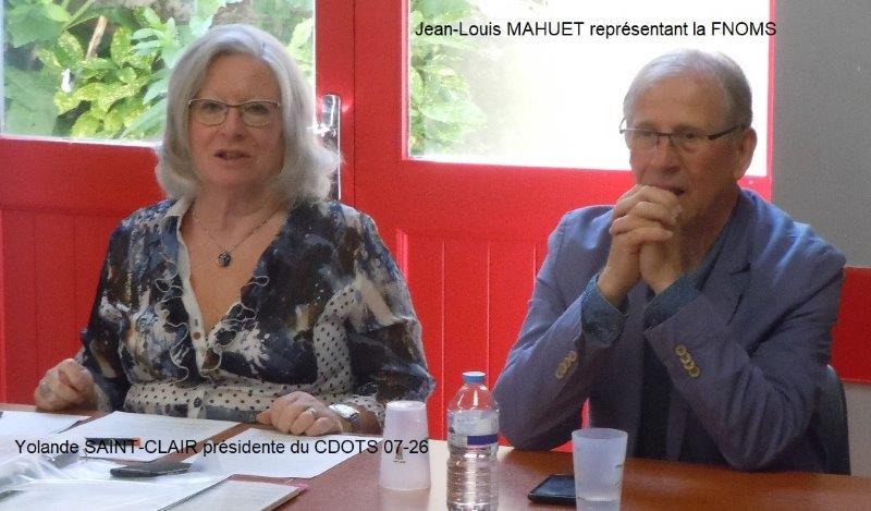 Y.SAINT-CLAIR et JLMAHUET