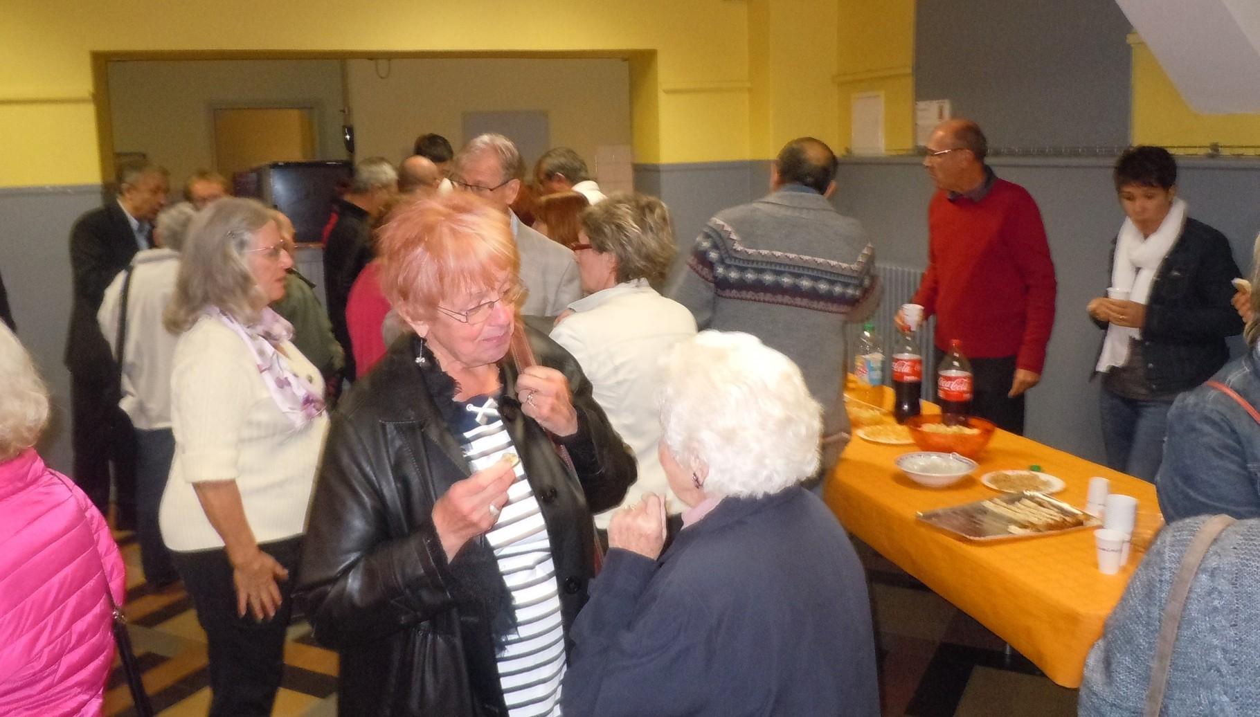 Réception à Bourg Saint-Andéol.