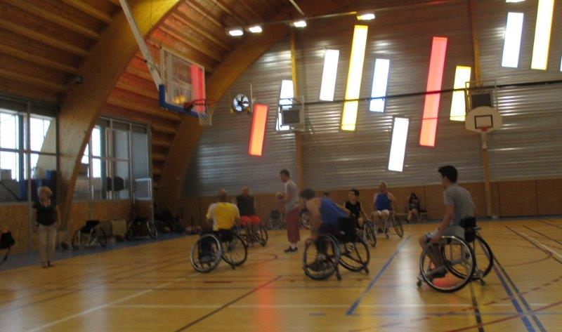 Echauffement Basket Handi