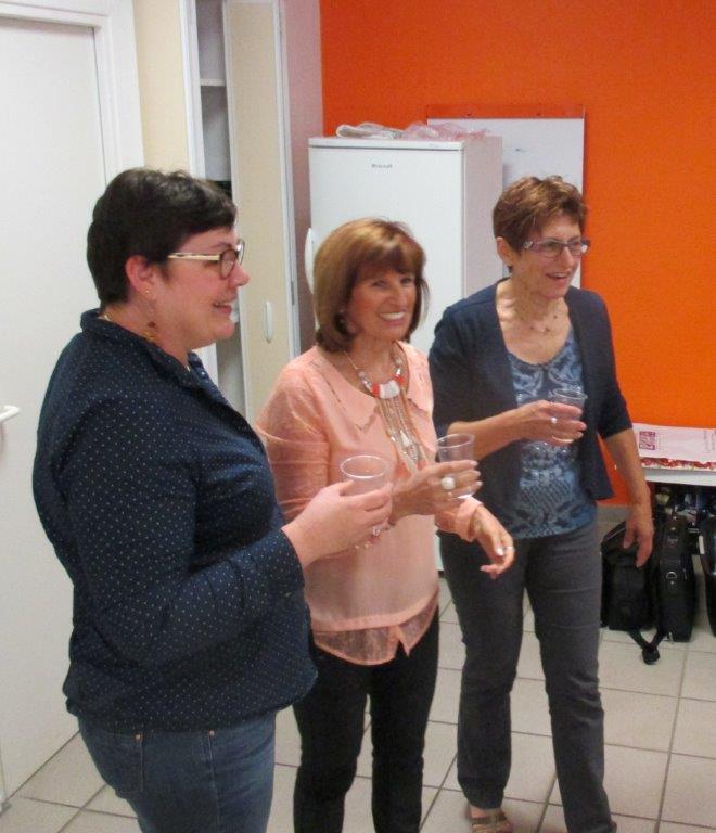 Marie-Luce, Ginette et Pierrette