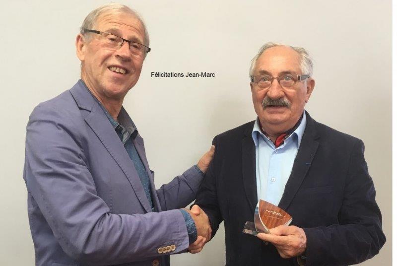 Félicitations Jean-Marc
