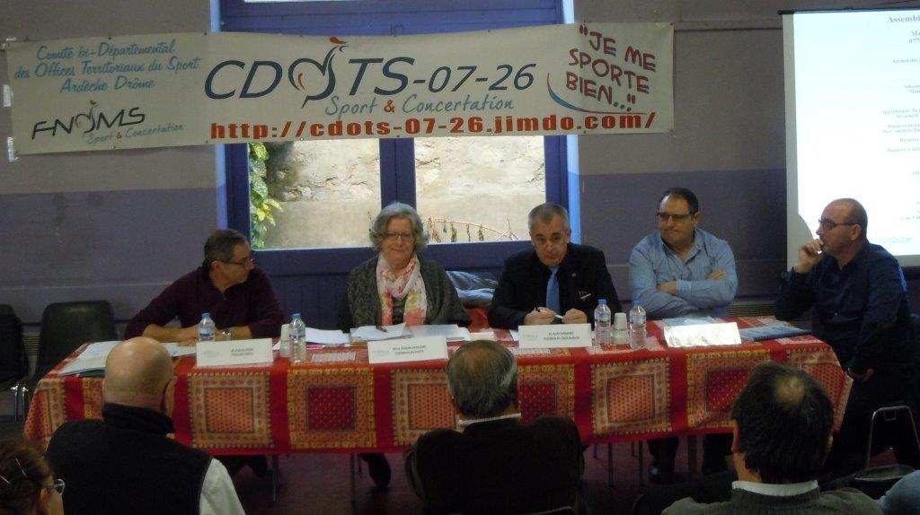 CDOTS 07-26 Table P.POUX, Y.SAINT-CLAIR, A.ARMAND, A.GARCIA ET J.P.MAUBERT