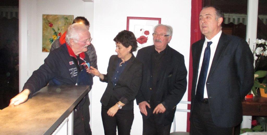 Gérard, Nathalie, Jean-Marc, et Didier Guillaume