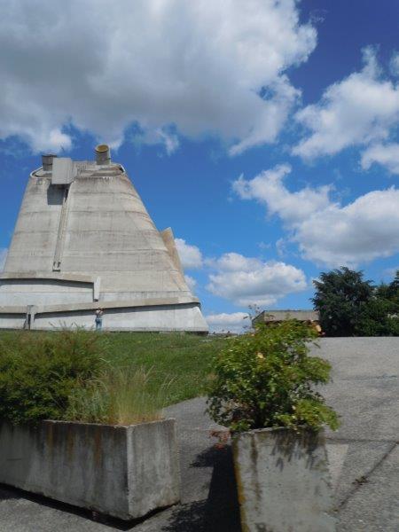 Eglise de Fiminy par LeCorbusier