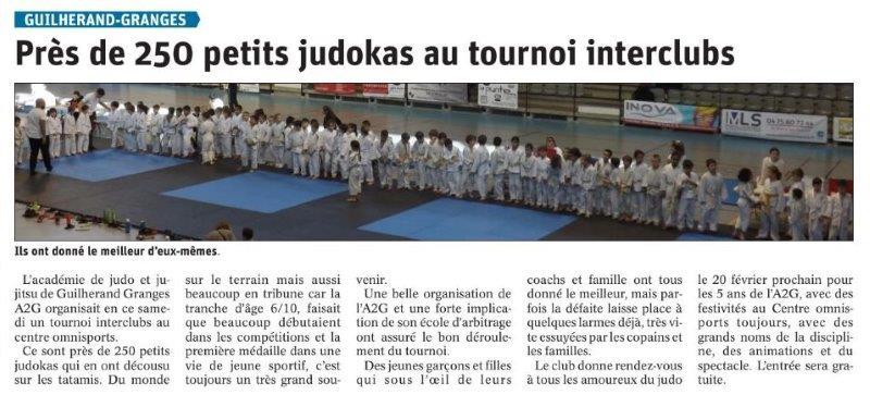 Le Dauphiné Libéré du 10-02-2020- Judo à Guilherand