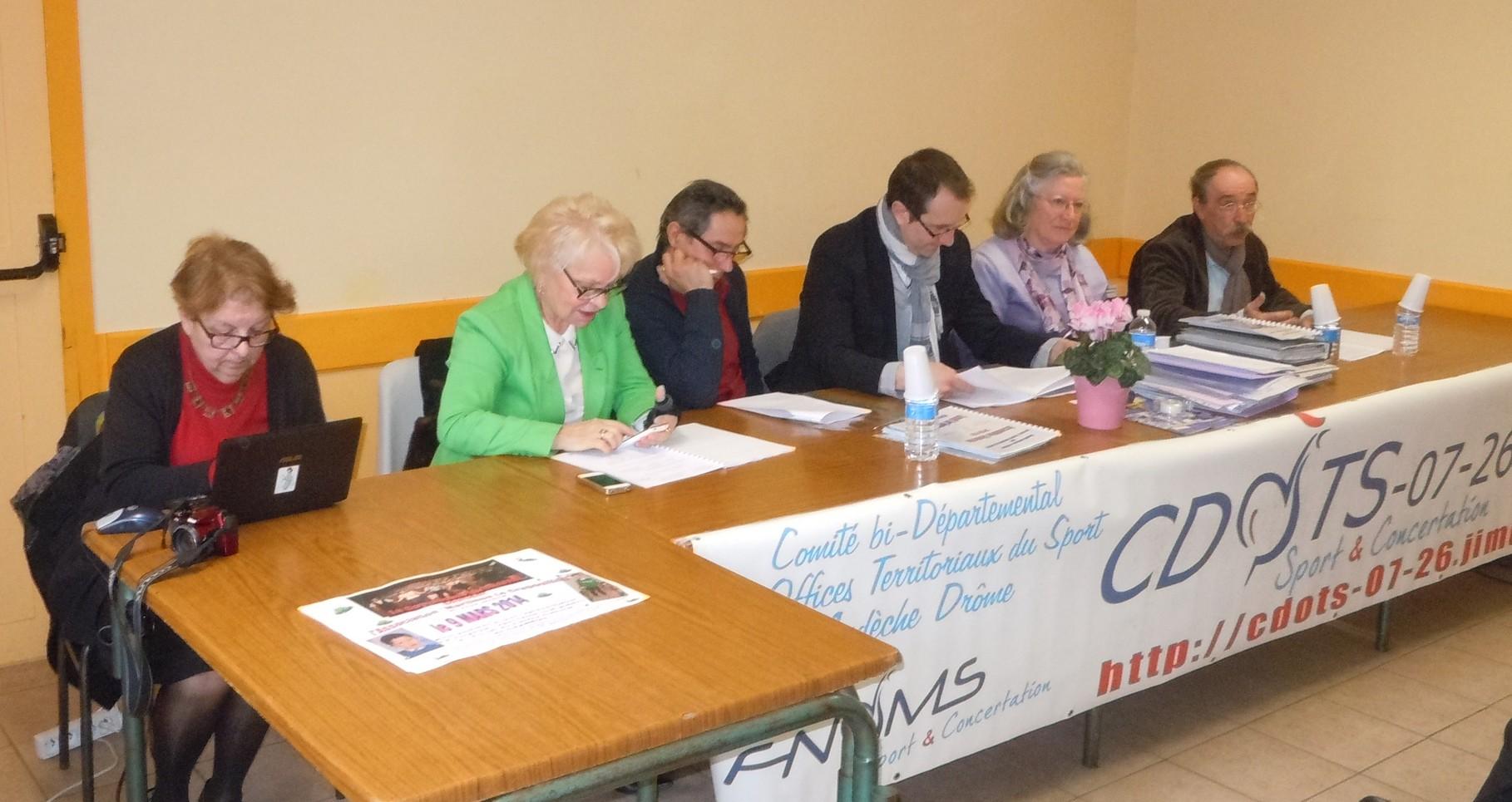 La Tribune-Christiane Chalias, Odette Durand, Patrick Poux, P.J.Veyret, Yolande Saint-Clair, Daniel Camilli -