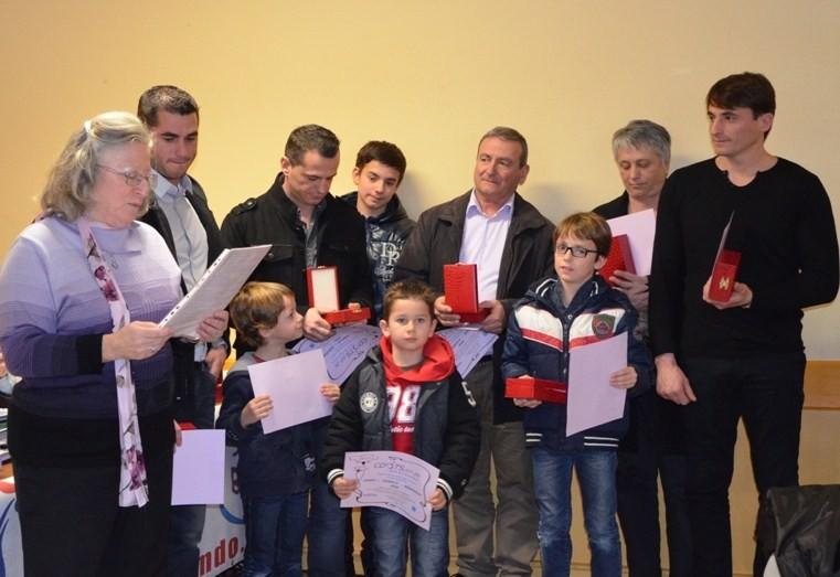 lecture du Palmarès de la famille PONSOT