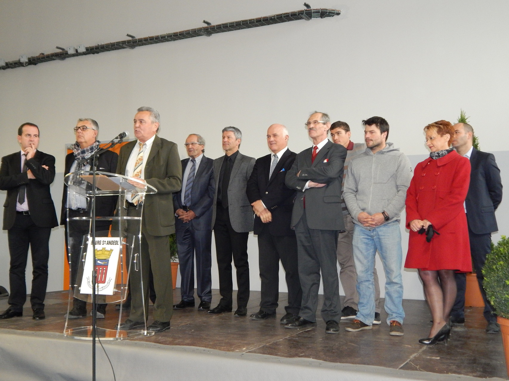 Inauguration Complexe Sportif