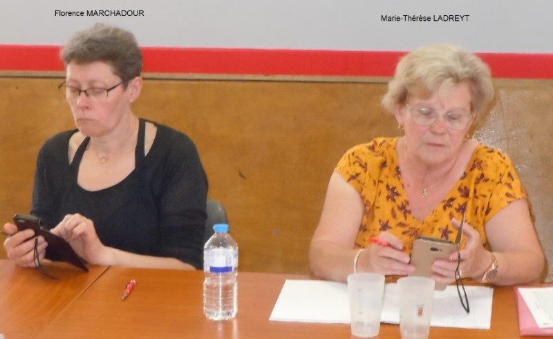 Florence et Marie-Thérèse