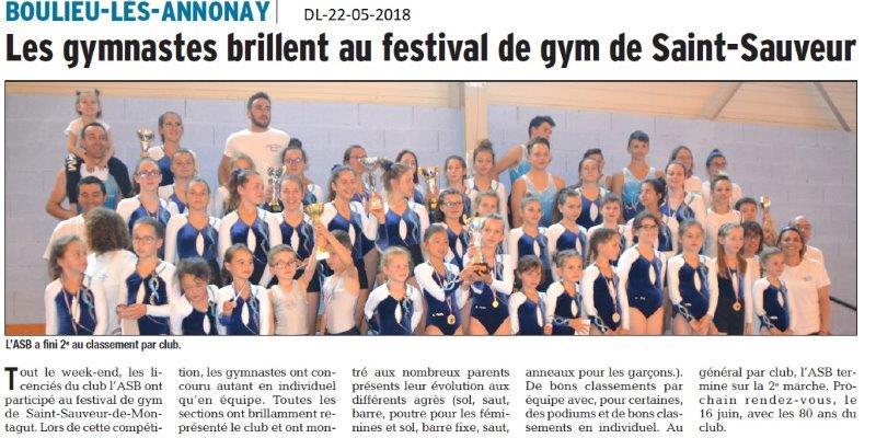 Dauphiné Libéré du 22-05-2018-GYM-Boulieu les Annonay