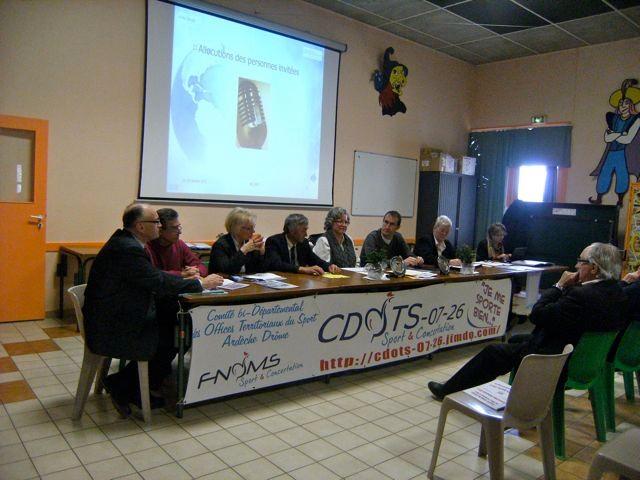 AG Cdots 07-26 à Guilherand-Granges le 29/01/11