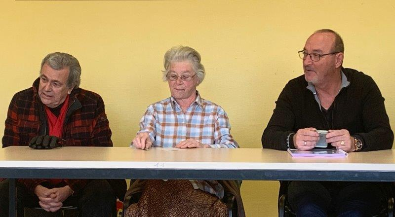 Michel, Solange, Jean-Pierre