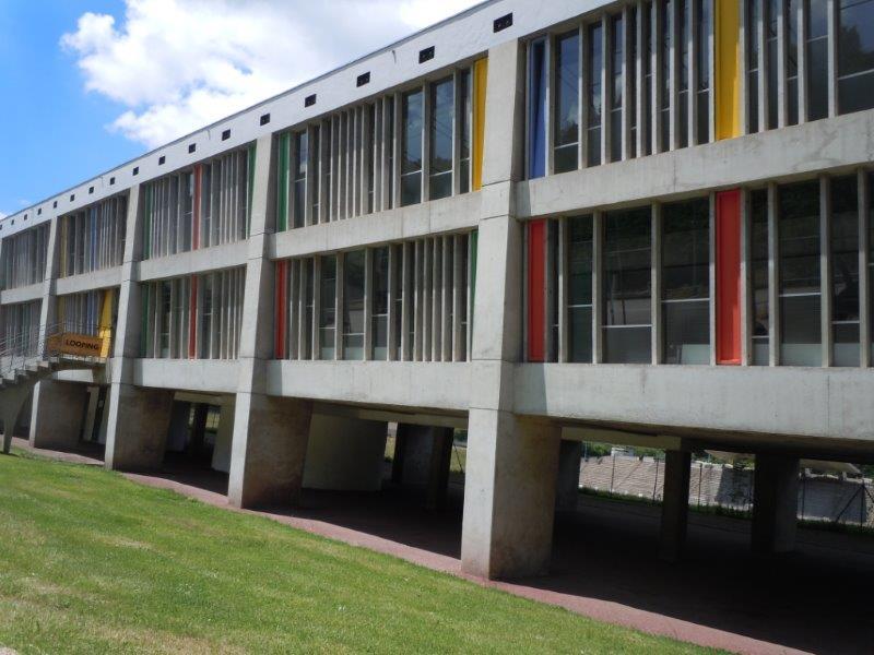 Bât Culturel par LeCorbusier