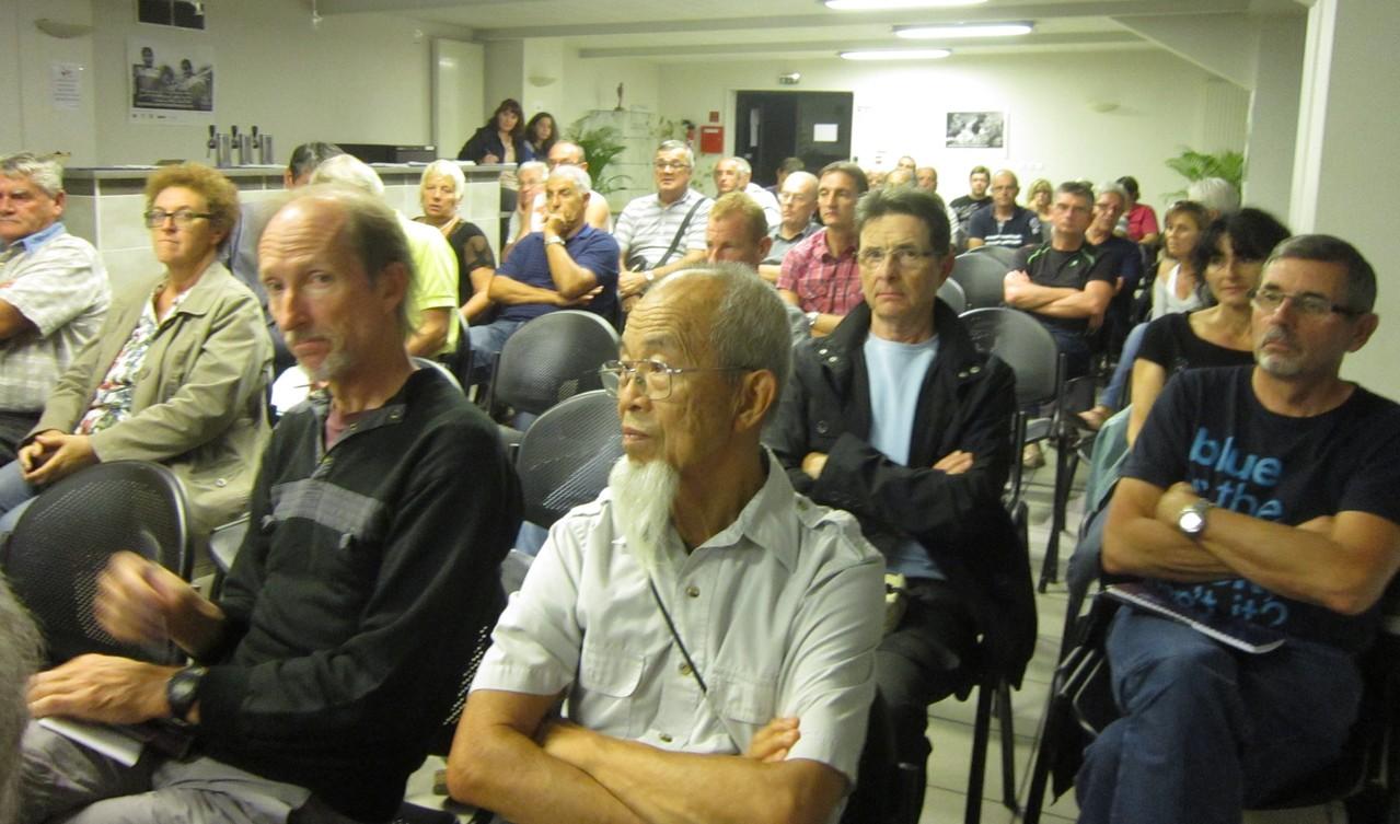AG-Montelimar 20121010 Stade de Tropenas-L'assistance: Stade de Tropenas-L'assistance