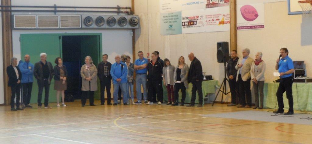 Laurent Rageau  remercie le public  et les participants de cette journée