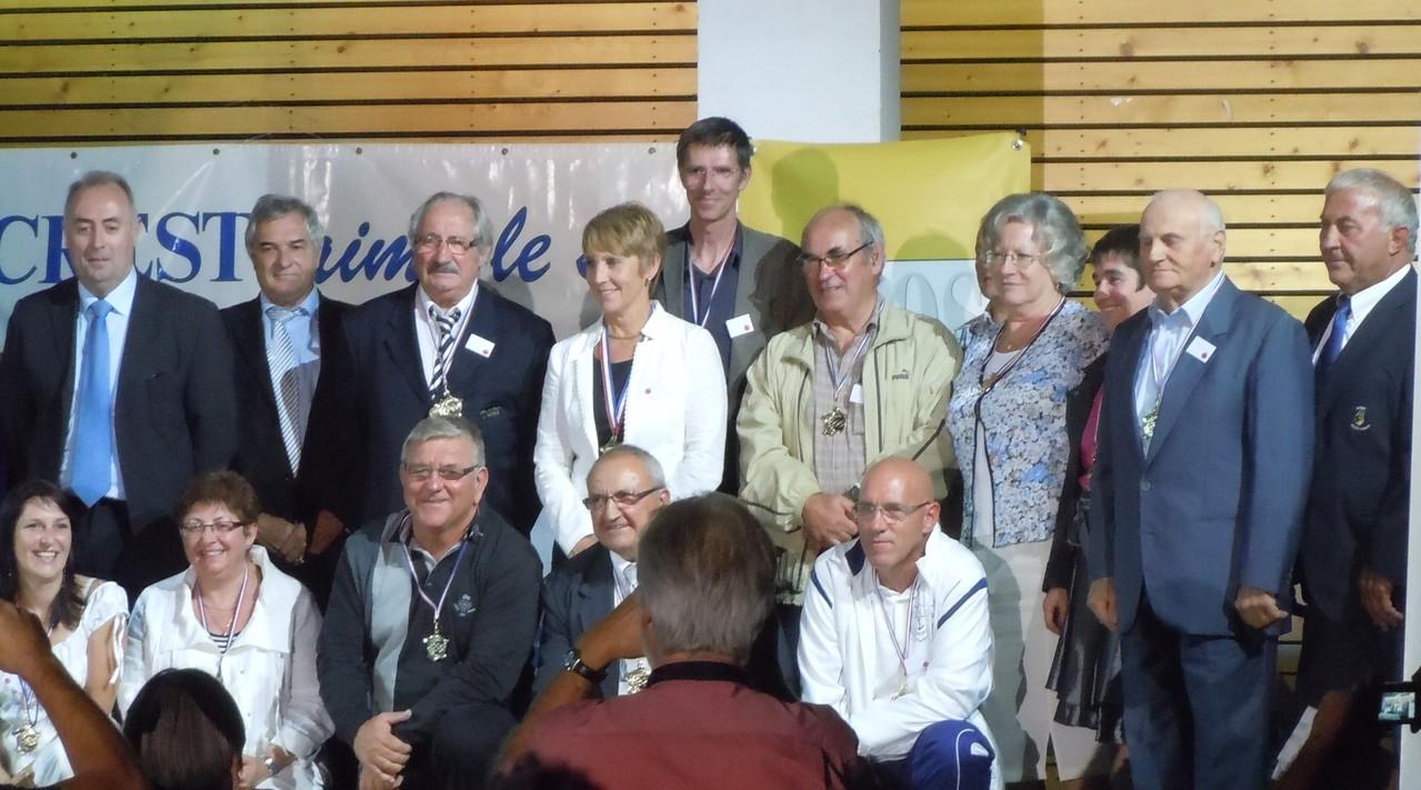 Trophées du Sport drômois CREST 2012 - Dirigeants