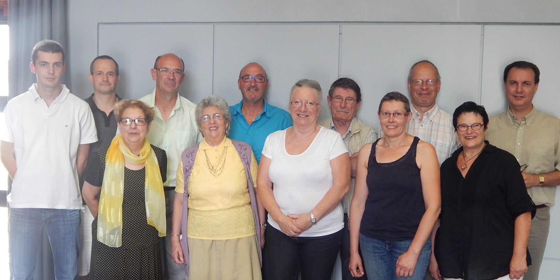 28 juin 2014 - M. le Maire Jean-Paul Vallon et l'OMS de Lamastre accueillent le CA du CDOTS