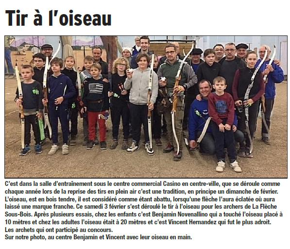 Dauphiné Libéré  du 06-02-2018