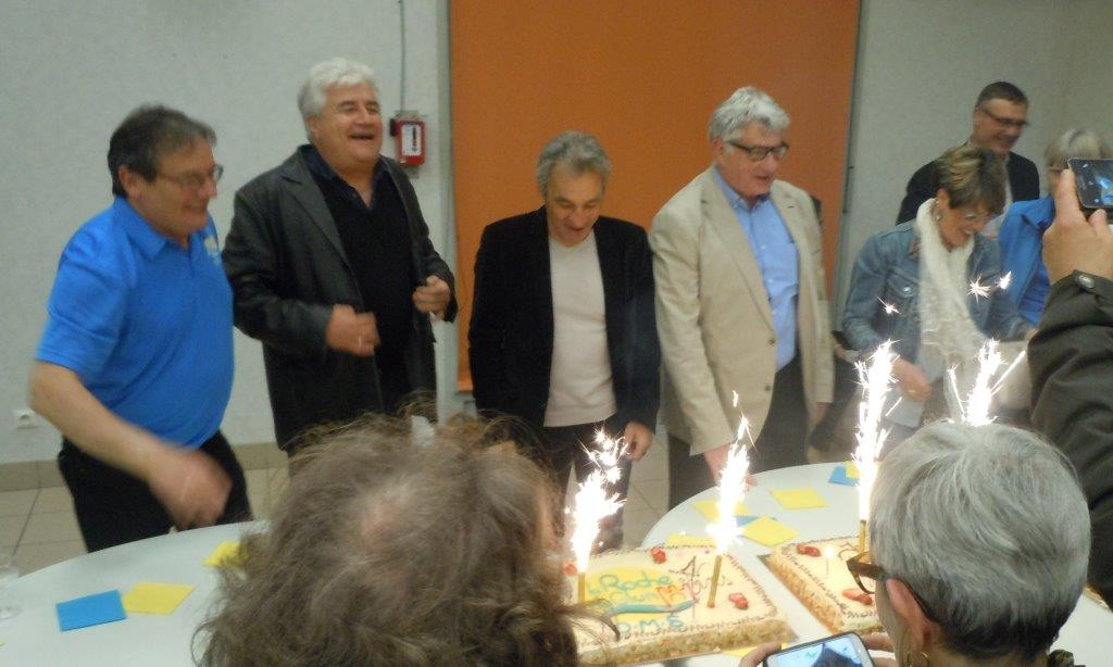 Les 4 premiers gourmands,  L.Rageau, JP Ollier, B.Foriel et H.Chaboud