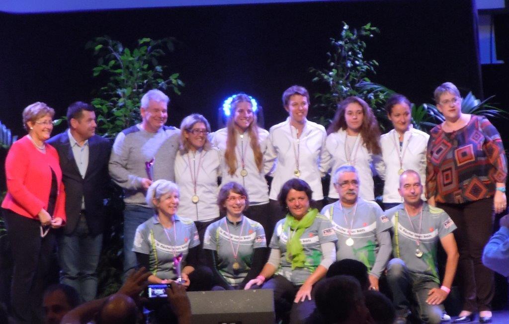 Equipes récompensées à Portes-lès-Valence 28ième Trophée du Sport Drômois