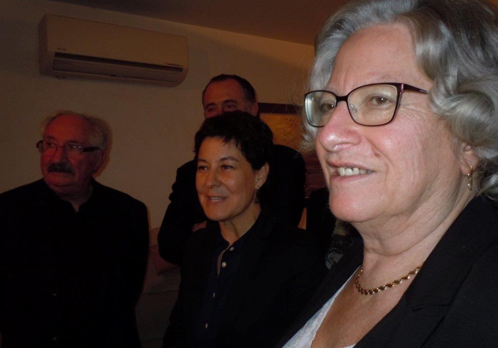 Jean-Marc Abattu, Nathalie Nieson, Didier Guillaume et Yolande Saint-Clair