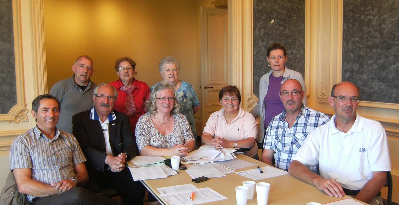 CA-BSA 20120609  Les membres présents du CA