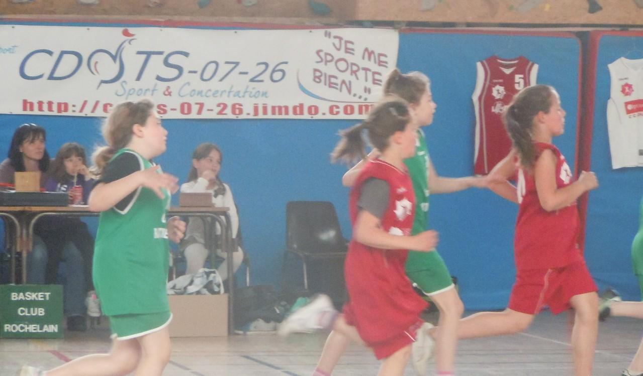 La Roche de Glun 20120507 Basket Club Rochelain - Plateau Poussins