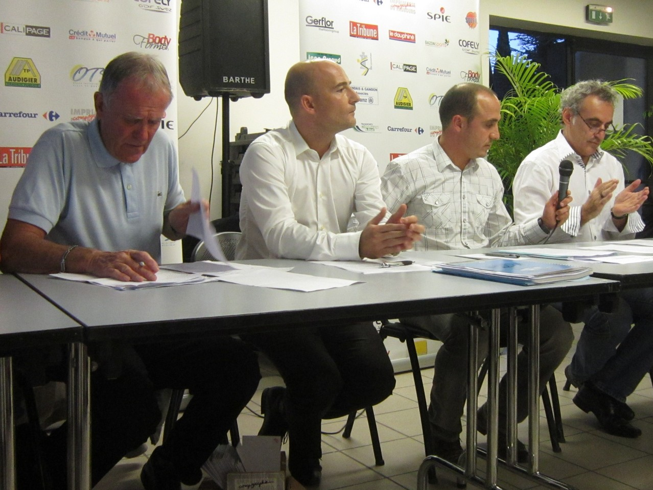 AG-Montelimar: Jacky Ferrero-Philippe Mazzuca-Karim Oumeddour-Jean-Paul Perrier