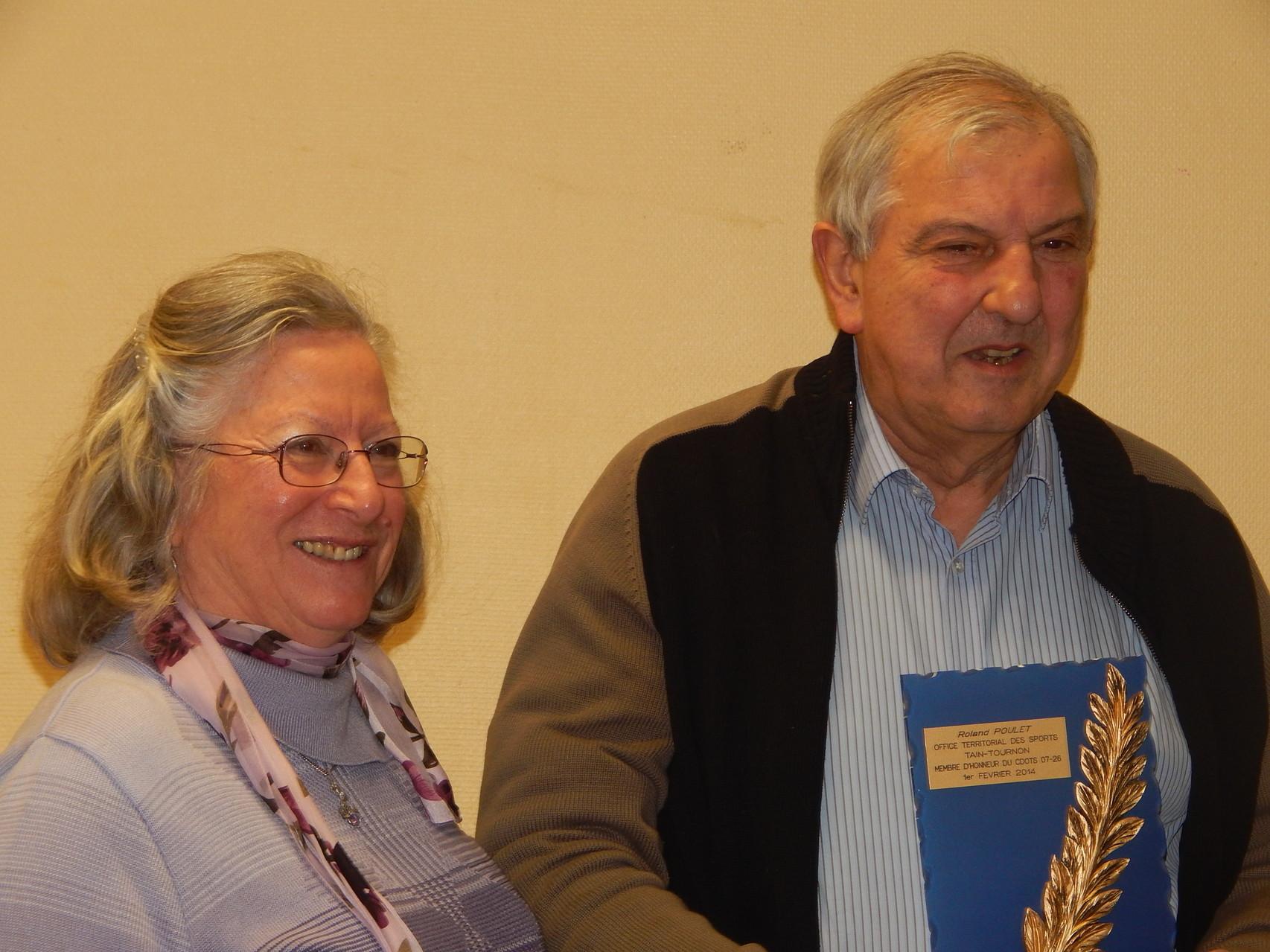 Trophée d'Honneur à Roland Poulet