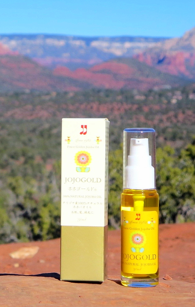"♔ ARIZONA JOJOGOLD  ""Mystic dew"" - a golden Oasis for your skin."