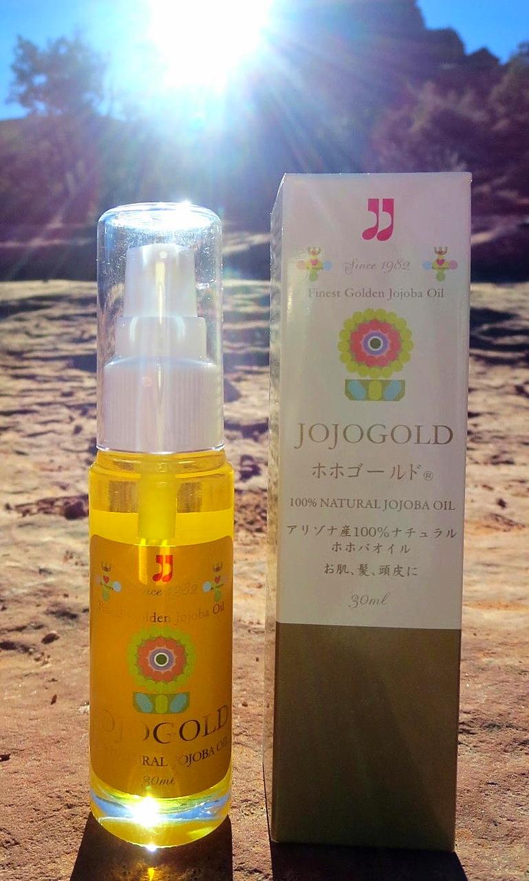 "♔ ARIZONA JOJOGOLD  ""Mystic dew"" - a golden Oasis for your skin."