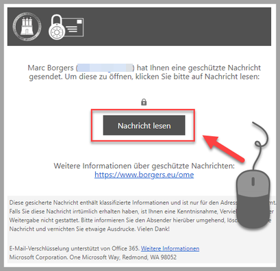 Microsoft, Encryption, OME, Office Message Encryption, S/MIME, Outlook, Exchange, OTP, one-time password, Einmalkennwort, Gmail, GoogleMail, O365, SMIME, Office365, Einmalcode, Problem, Anmeldung