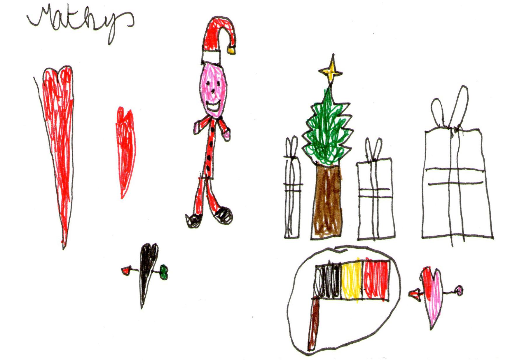 Un dessin de Mathys