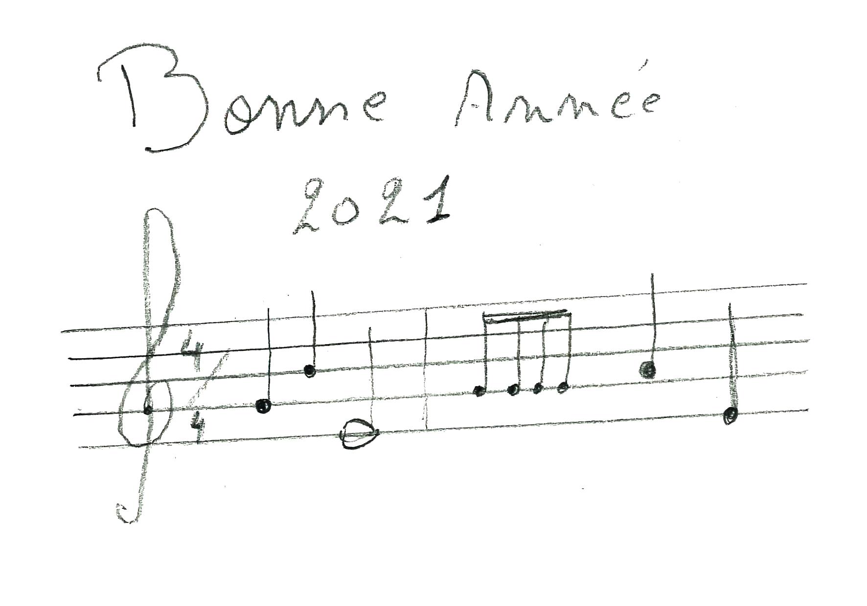 Les voeux à chanter de Stéphane Karnier