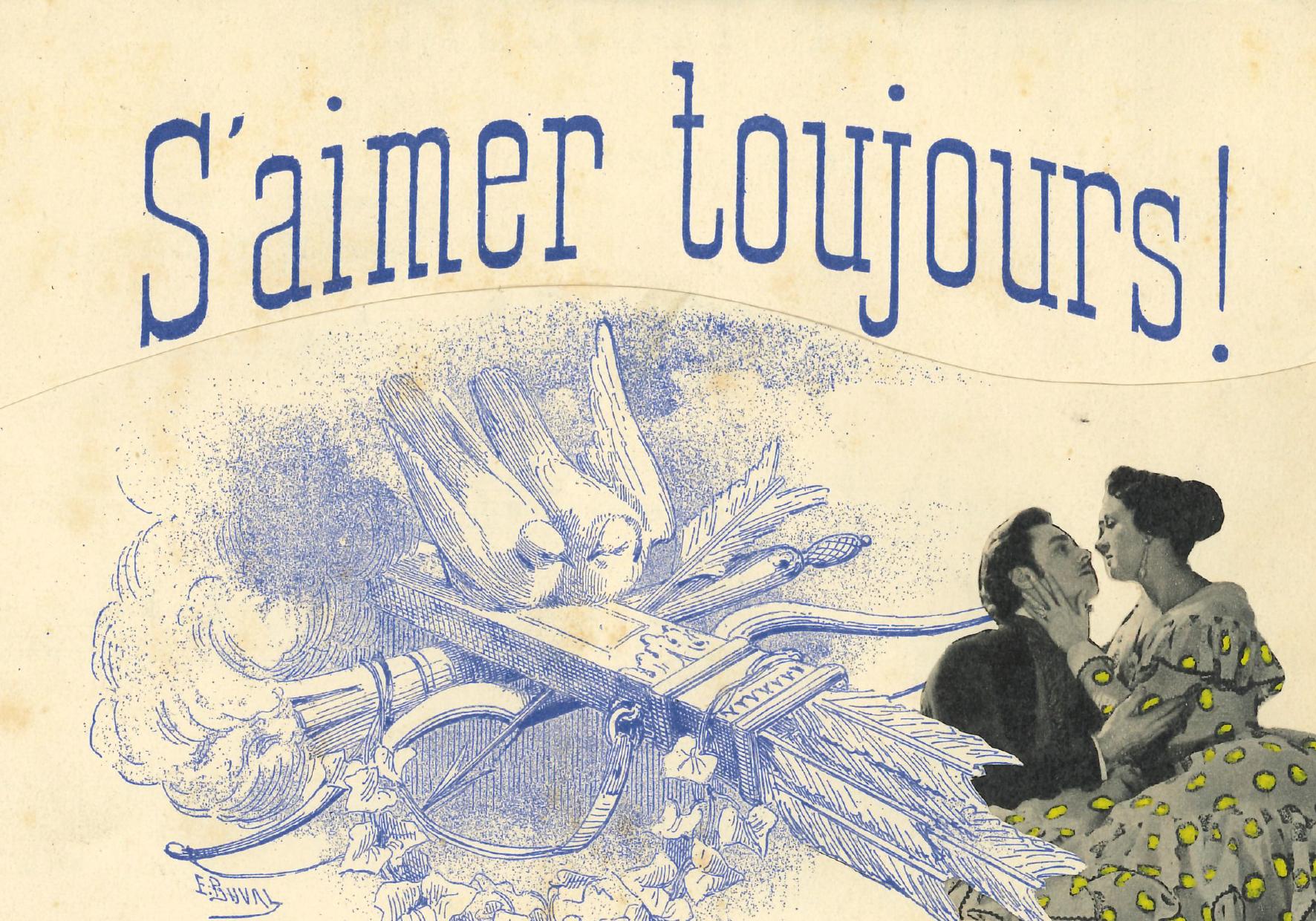 Un collage de Dorothée Dujeu