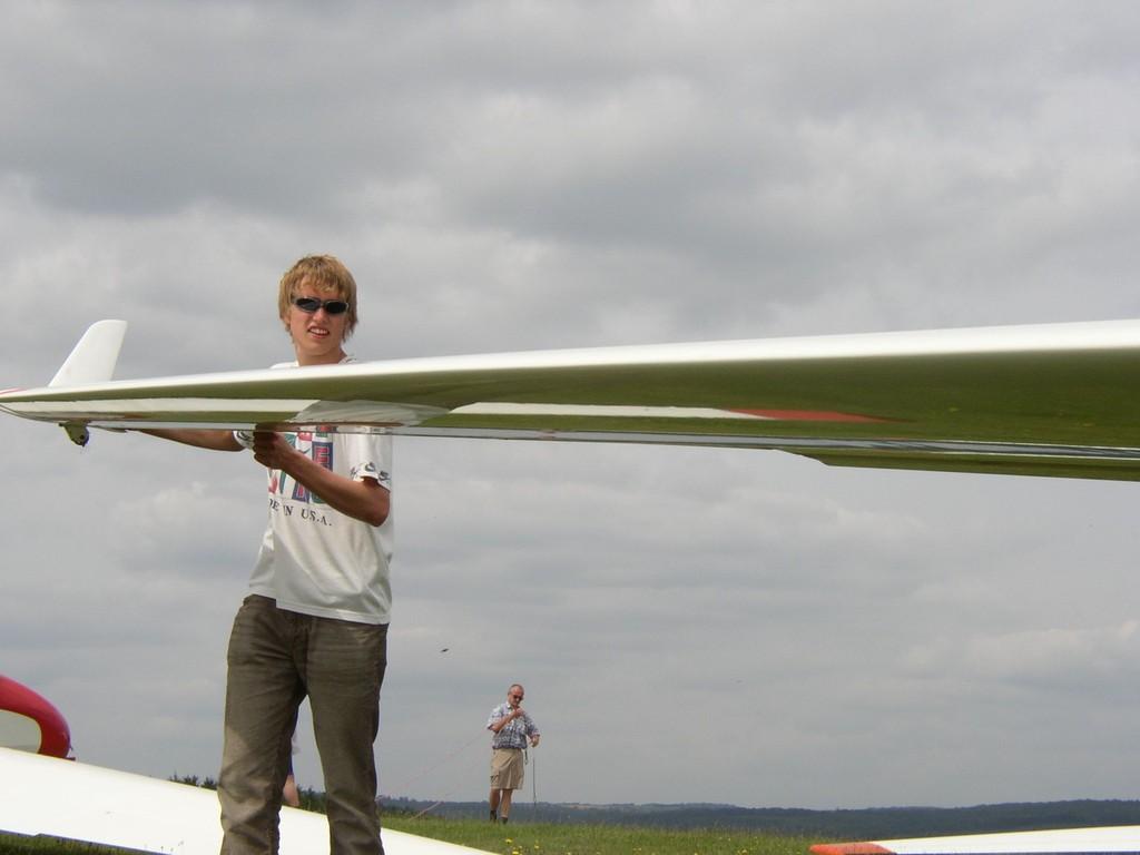 Flächenmann Henner in Action