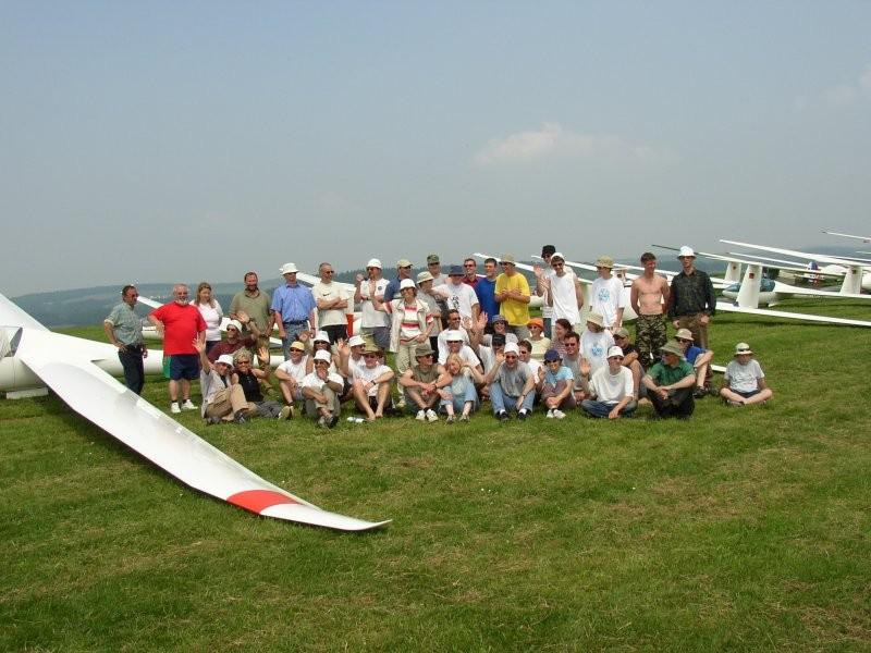 Die Teilnehmer des 1.Eifeler Regionalcups 2003