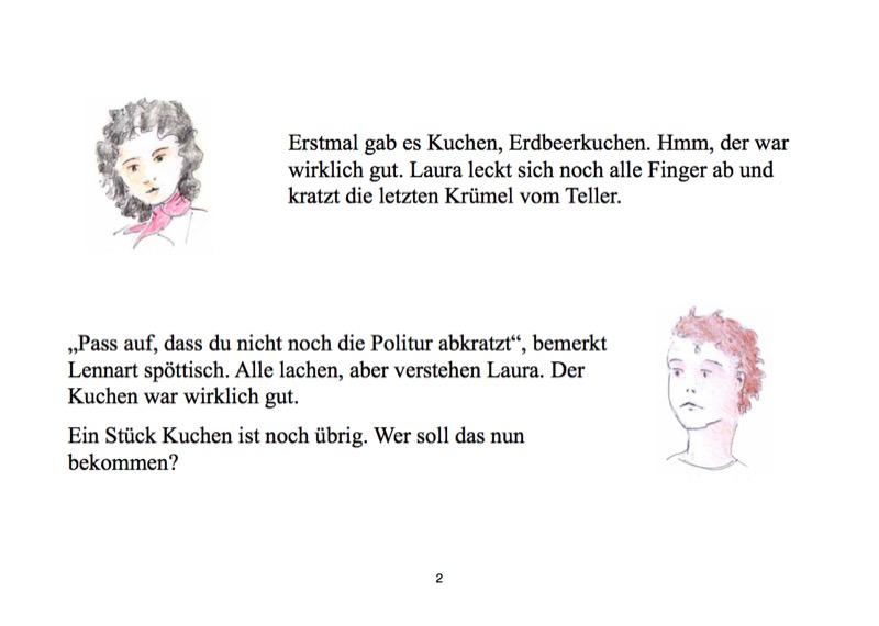 """Textseite des Buches """"Nein, wie ungerecht!"""" von Heilwig v. Massow"""