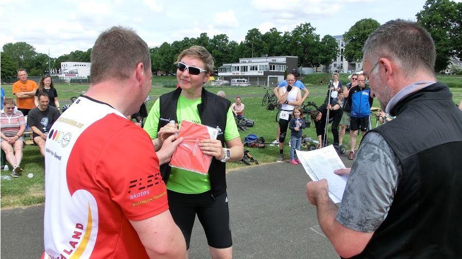 Moderner Biathlon in Köln