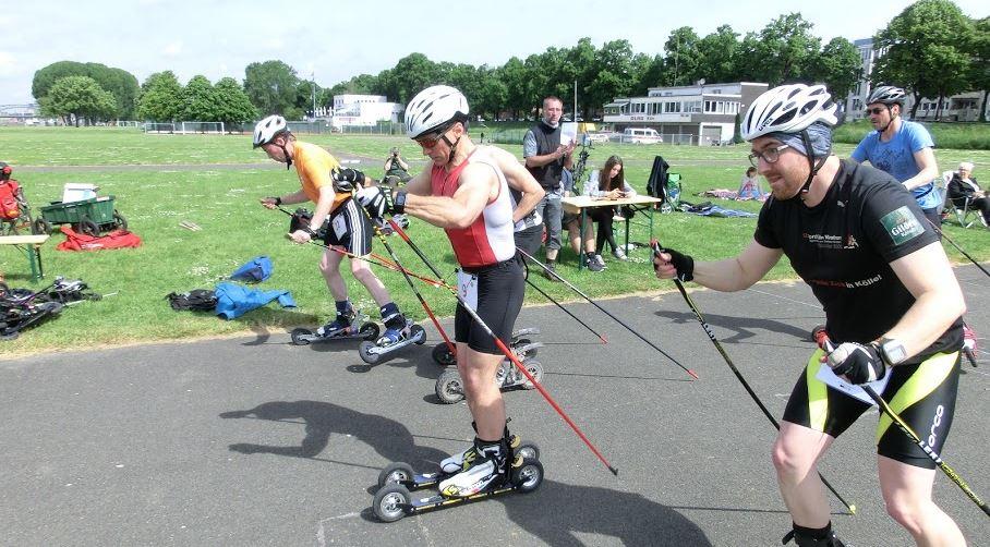 Laser Biathlon Training mit Lasergewehren