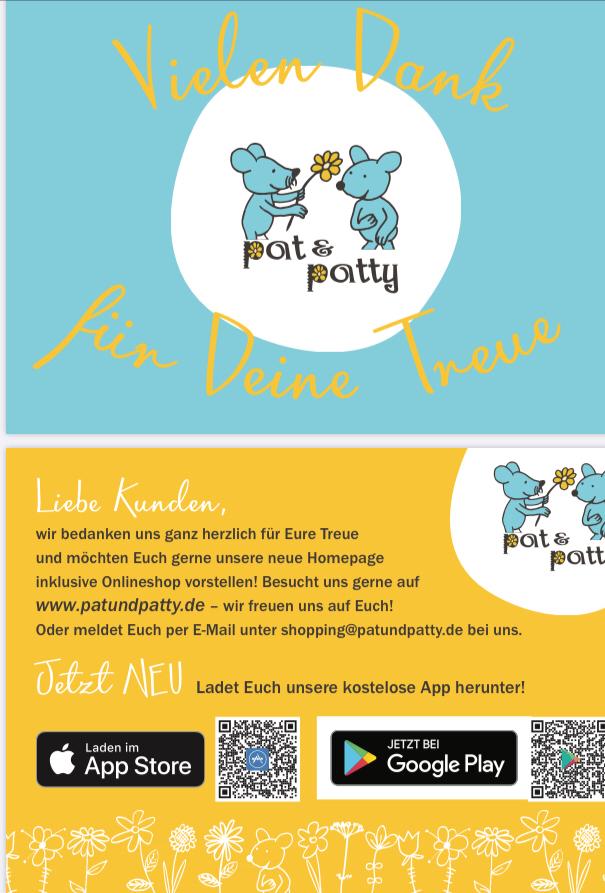 Postkarte für unsere Kunden