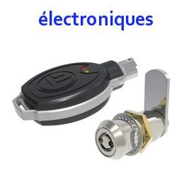 Serrures batteuses électroniques
