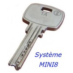 Clé sécurié MINI8
