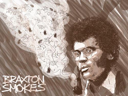 Braxton smokes