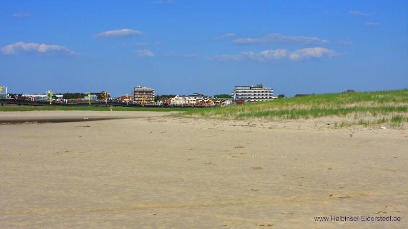 Sandbank im Bad