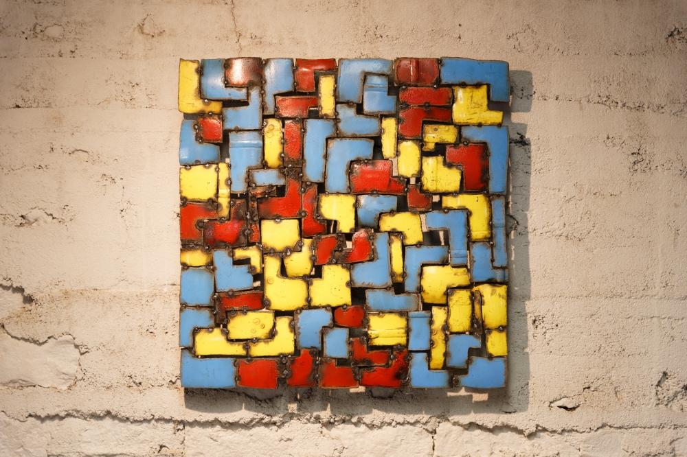 Gaz—29 (50x50x5 cm) ©Michel LAURENT