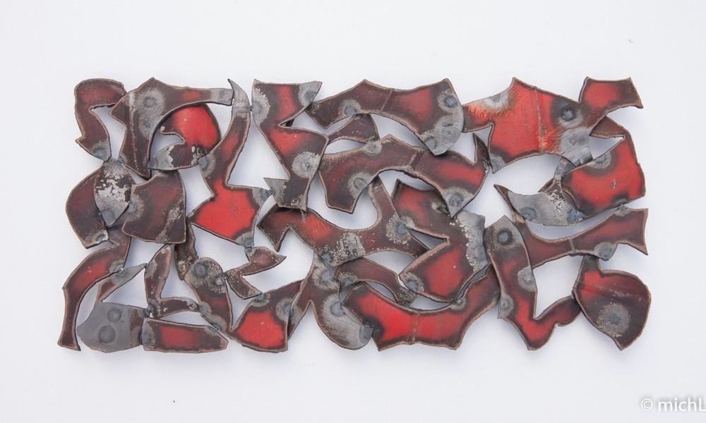 Éclats / Acier  (25 x 52 cm)  © Michel LAURENT (MichL)